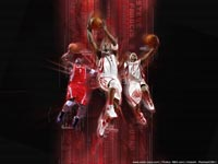 Steve Francis Houston Rockets Wallpaper