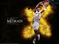 T-Mac Raptors Dunk Wallpaper