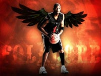 Tracy McGrady Black Angel Wallpaper