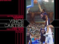 Vince Carter Over Weis Dunk Wallpaper