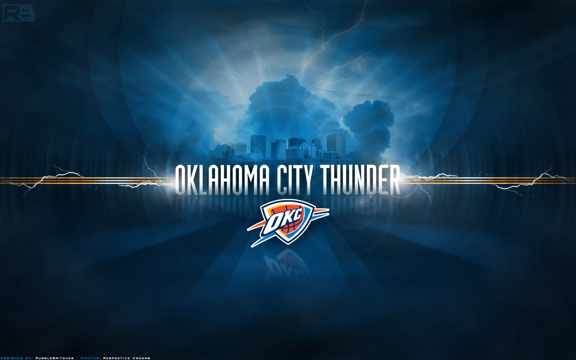 Oklahoma City Thunder Widescreen Wallpaper