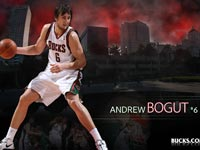Andrew Bogut Bucks Widescreen Wallpaper
