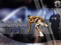 Brandon Roy Trail Blazers Widescreen Wallpaper