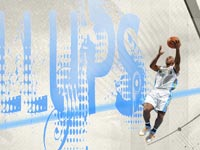 Chauncey Billups Layup Widescreen Wallpaper
