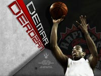 DeMar DeRozan Raptors Widescreen Wallpaper