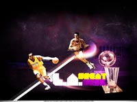 LA Lakers Kobe Bryant - Jerry West Wallpaper