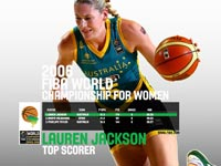 Lauren Jackson FWC 2006 Wallpaper
