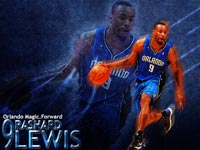 Rashard Lewis Magic Widescreen Wallpaper