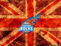 Scottish Rocks Wallpaper