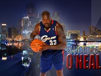 Shaquille O'Neal Cavaliers Widescreen Wallpaper