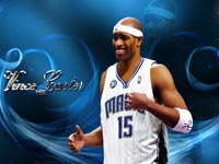 Vince Carter Magic Widescreen Wallpaper