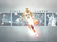 Vince Carter Nets Dribbling Wallpaper