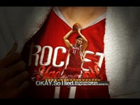 Yao Ming Rockets Widescreen Wallpaper