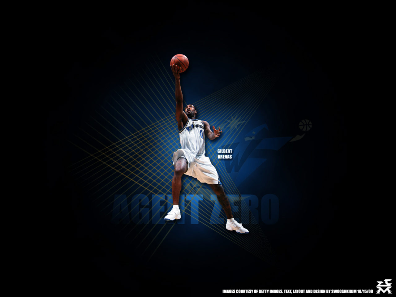 in my opinion i'll start with new wallpaper of Gilbert Arenas :)