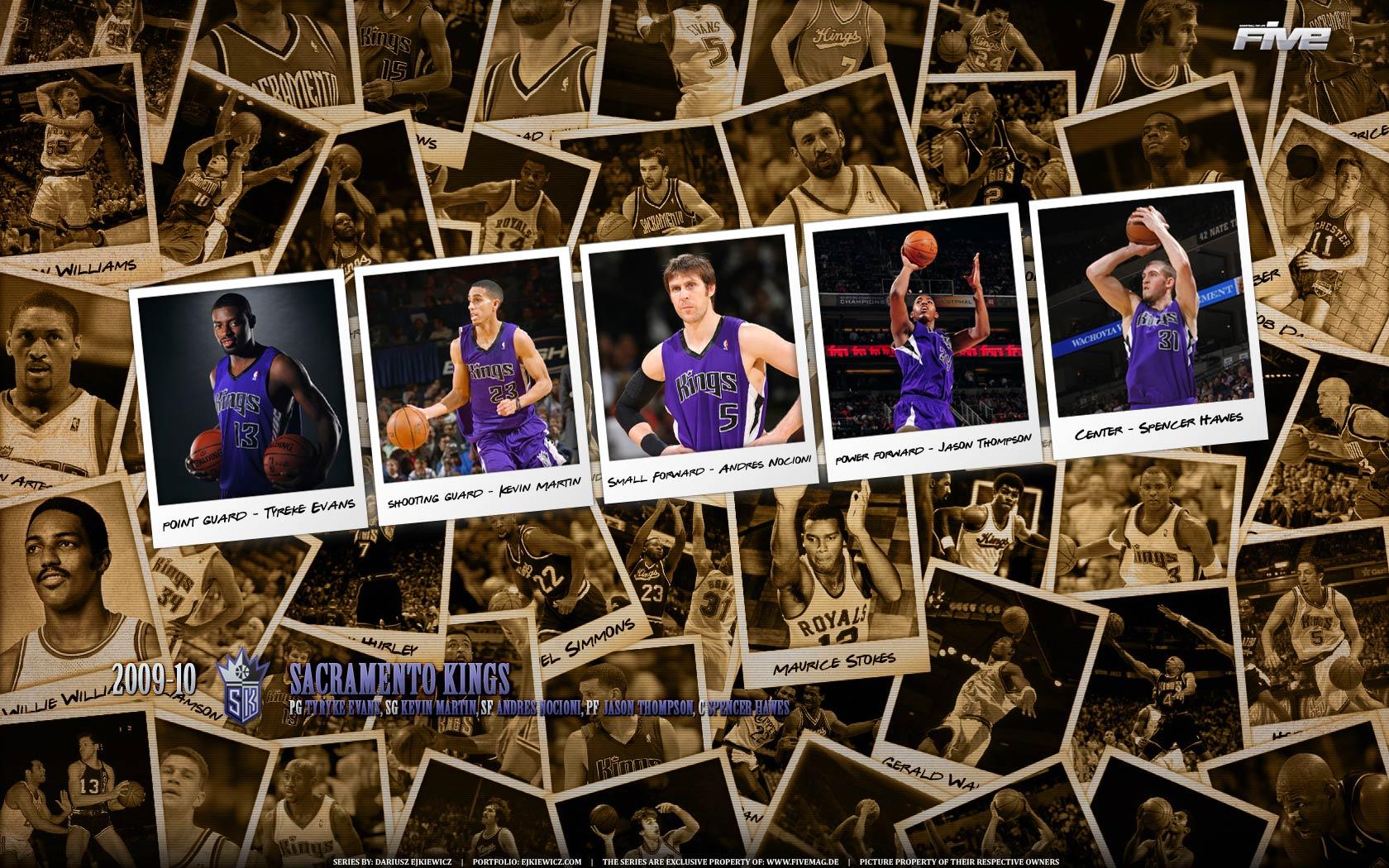 Sacramento Kings 2010 Widescreen Wallpaper