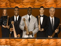 2009 Hall Of Famers Widescreen Wallpaper