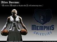 Allen Iverson Memphis Grizzlies Wallpaper