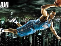 Dwight Howard Flying Widescreen Wallpaper