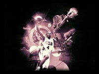 Joe Johnson Dream Team Dunk Wallpaper