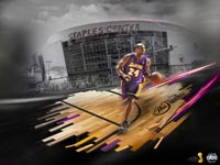 Kobe Bryant Staples Center wallpaper