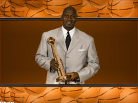 Michael Jordan 2009 Hall Of Fame Widescreen Wallpaper
