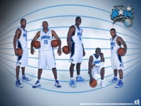 Orlando Magic 2010 Starting Five Wallpaper