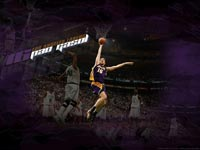 Pau Gasol Dunks Wallpaper