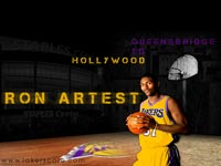 Ron Artest Lakers 1600x1200 Wallpaper