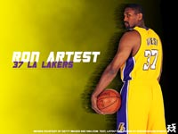 Ron Artest Lakers Wallpaper