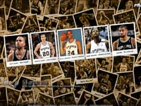San Antonio Spurs 2010 Widescreen Wallpaper