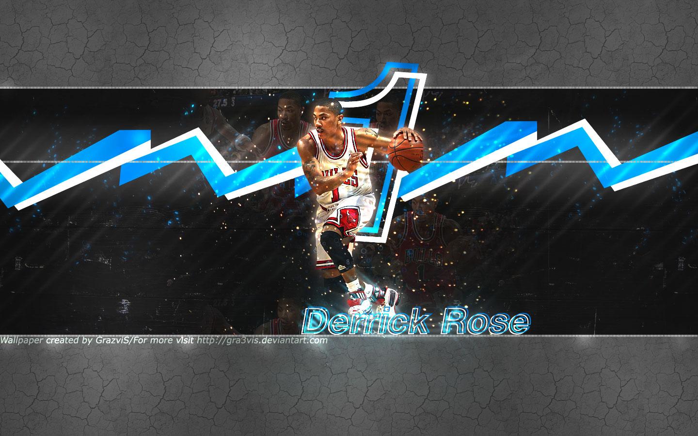 Derrick Rose Bulls Wide Screen Wallpaper