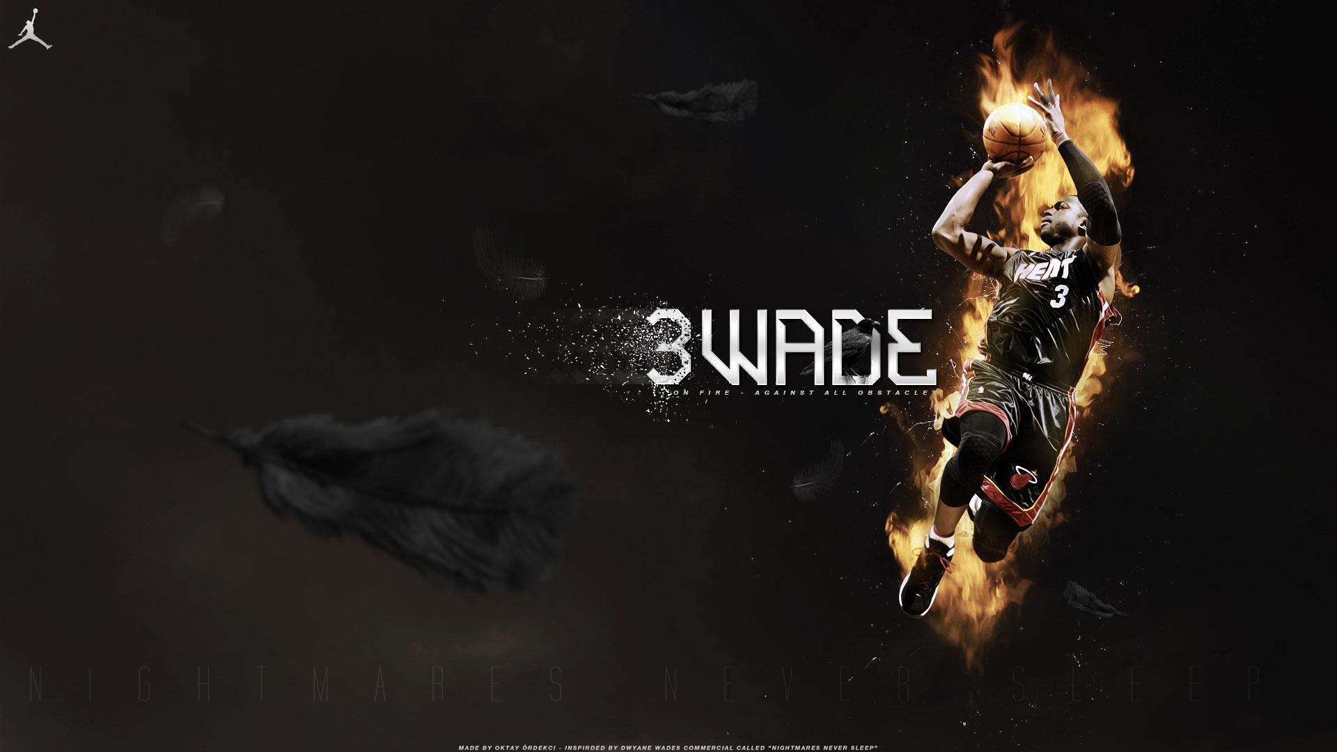 Next goes new wide screen wallpaper of Dwyane Wade, 1920x1080 pixels ...