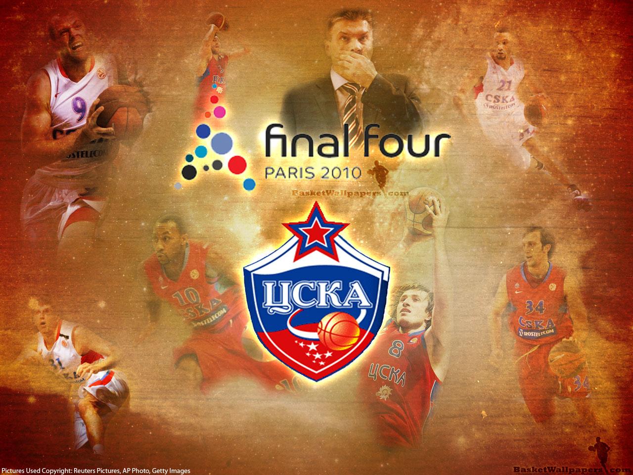 Euroleague 2010 Final Four CSKA Wallpaper