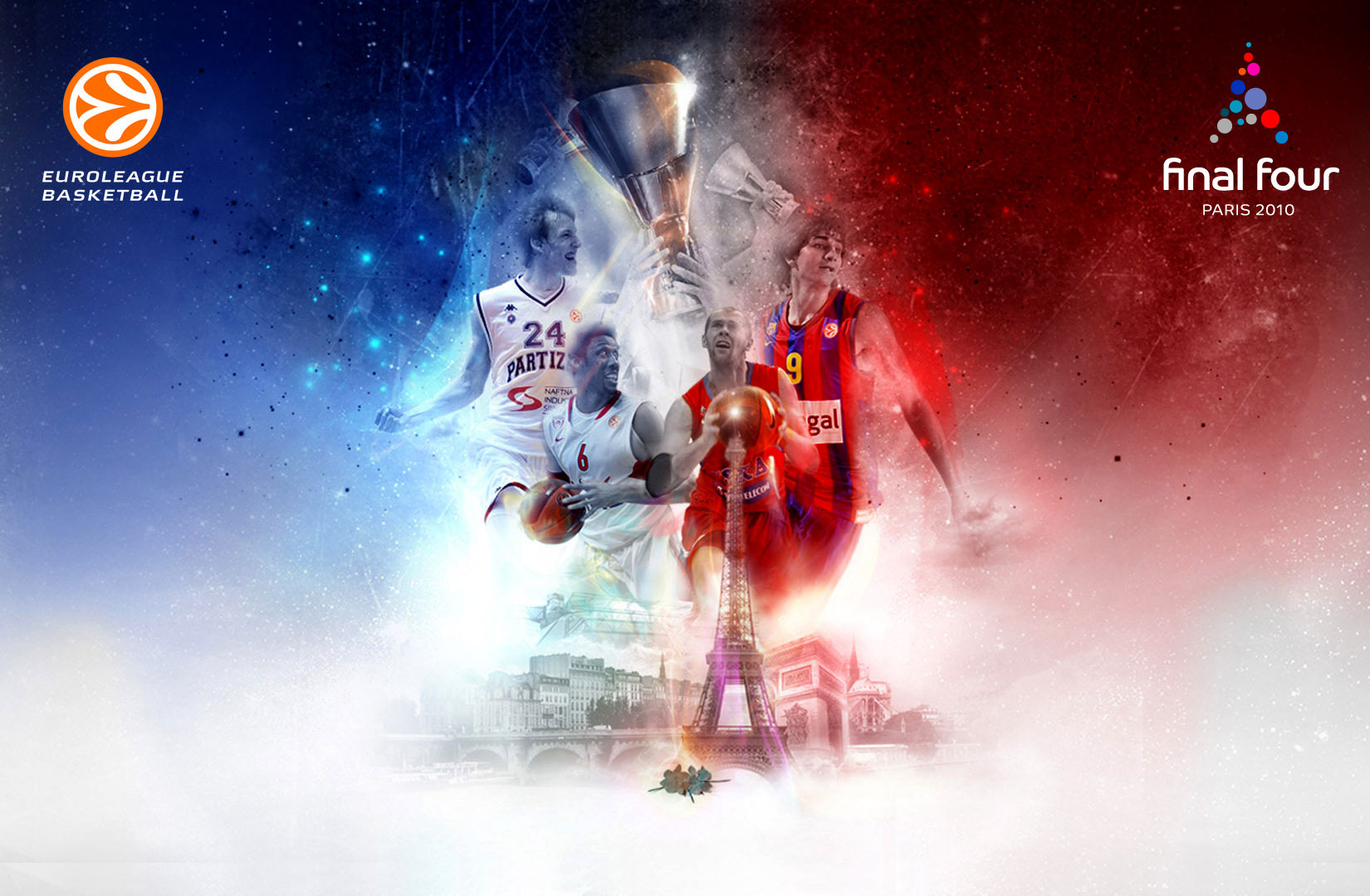 Euroleague 2010 Final Four Widescreen Wallpaper