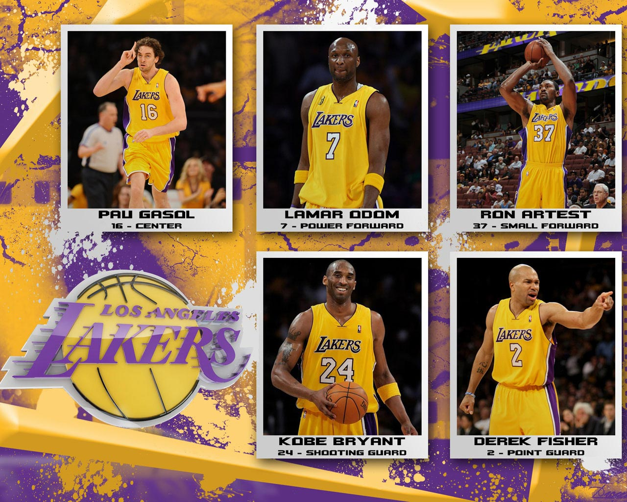 LA Lakers 2010 Wallpaper