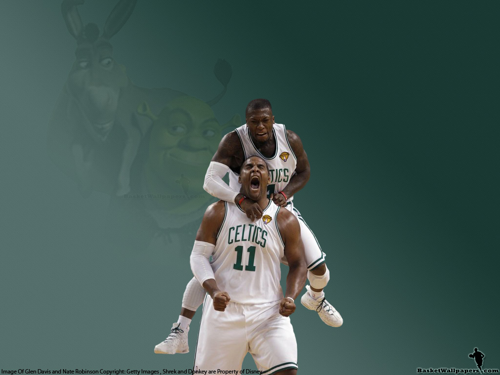 Nate And Big Baby Shrek Donkey Wallpaper