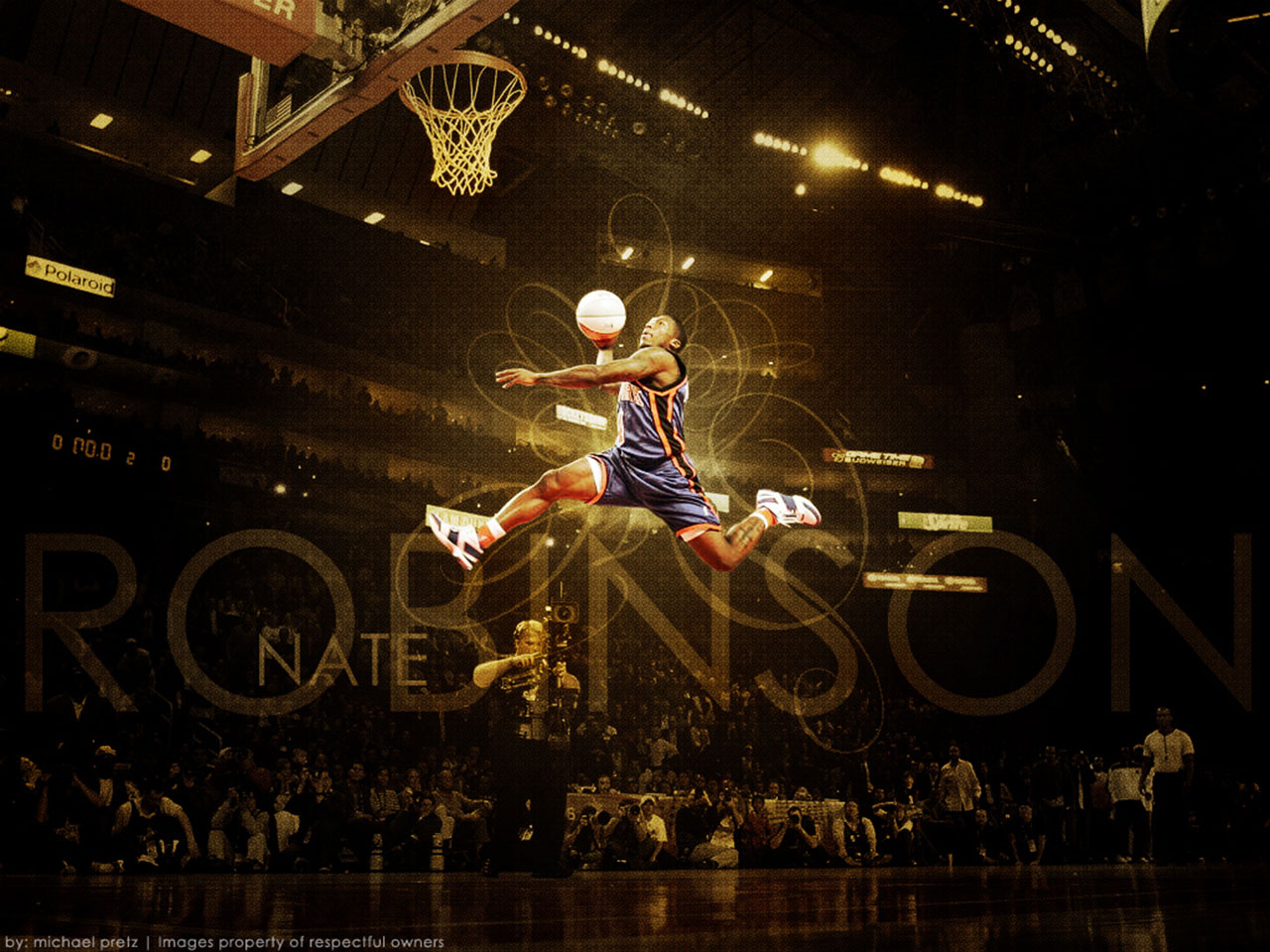 Nate Robinson 1280x960 Dunk Wallpaper