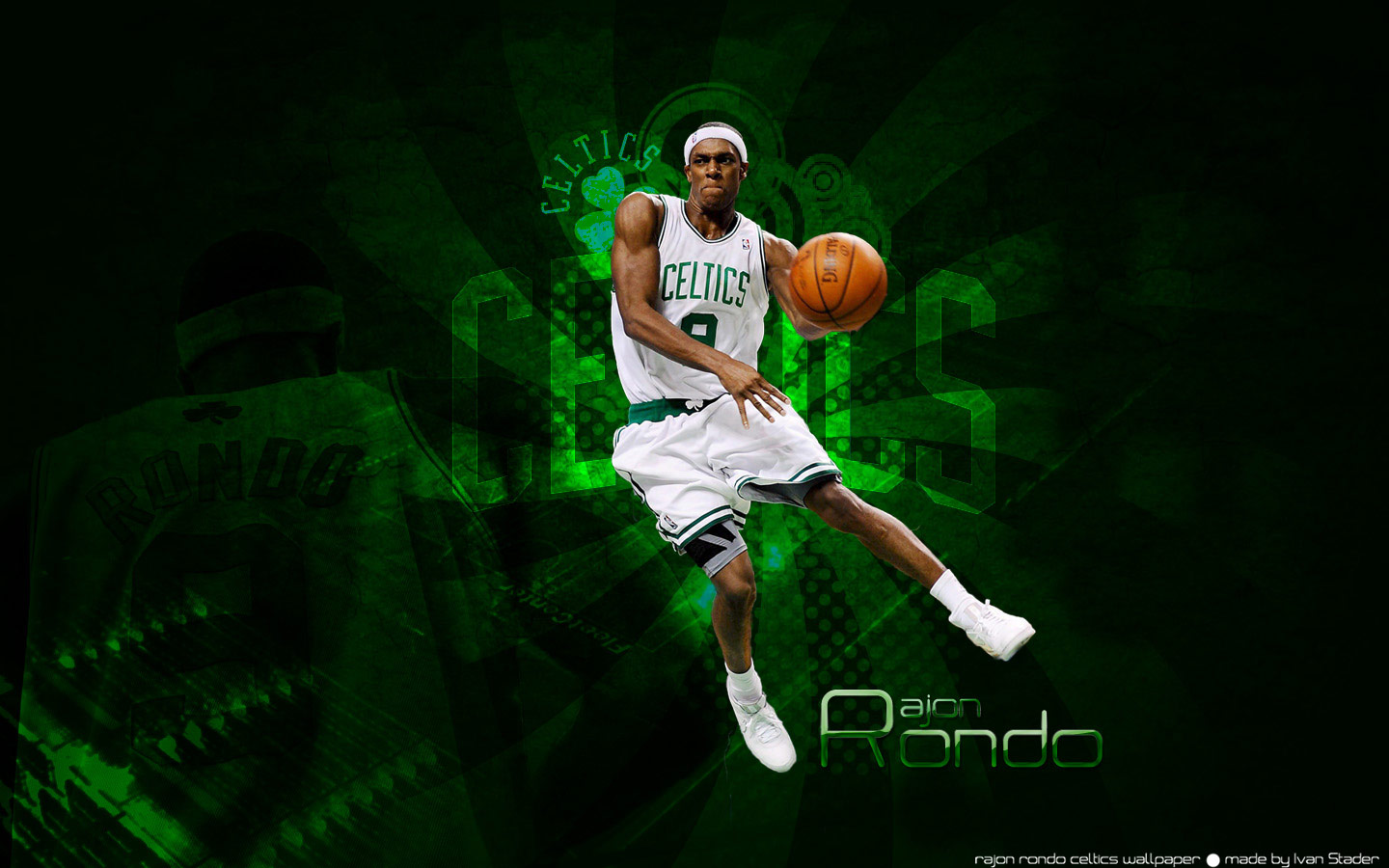 Rajon Rondo Wallpapers at BasketWallpapers.