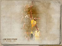 Andrew Bynum Dunk Over Jermaine O'Neal Wallpaper