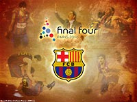 Euroleague 2010 Final Four Barcelona Wallpaper