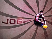 Joe Johnson Hawks Widescreen Wallpaper