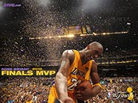 Kobe Bryant 2010 NBA Finals MVP Wallpaper