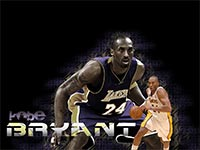 Kobe Bryant Defense Widescreen wallpaper
