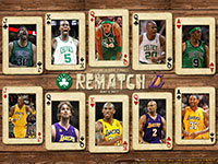 Lakers - Celtics 2010 Finals Rematch Wallpaper