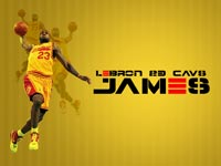 LeBron James 1600x900 Cavs Wallpaper