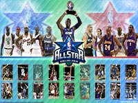 NBA All-Star 2010 Rosters Wallpaper