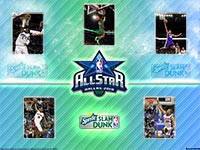 NBA All-Star 2010 Slam Dunk Wallpaper