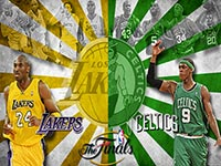 NBA Finals 2010 Celtics vs Lakers Wallpaper