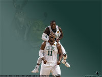 Nate Robinson Celtics Widescreen Wallpaper