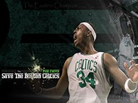 Paul Pierce Celtics 2010 Playoffs Widescreen Wallpaper